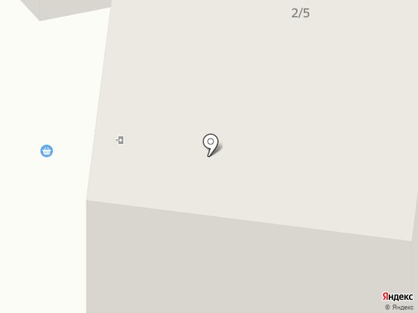 Арник на карте Якутска