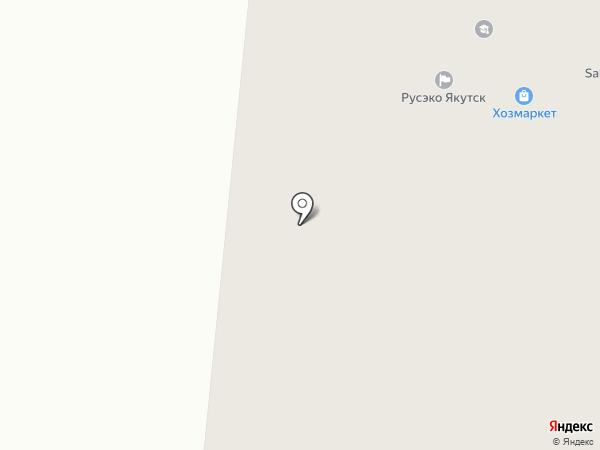 Магазин пультов на карте Якутска