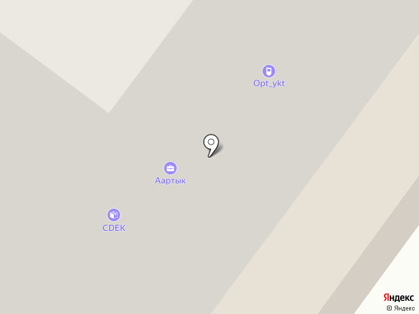 Naya на карте Якутска