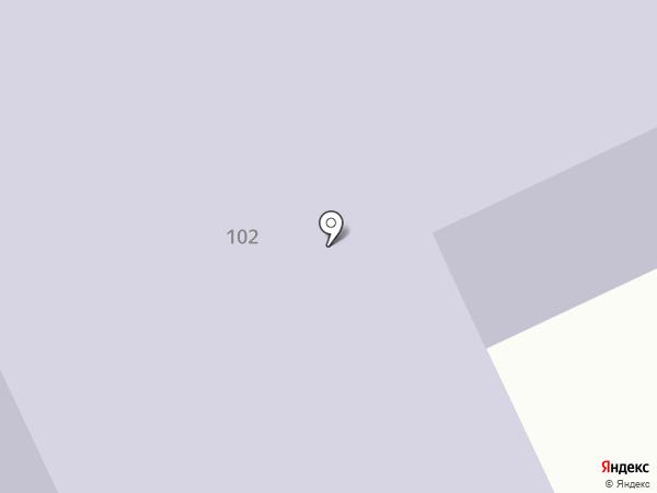 Поликлиника №5 на карте Якутска