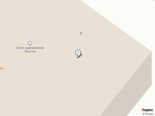 НАО на карте Якутска
