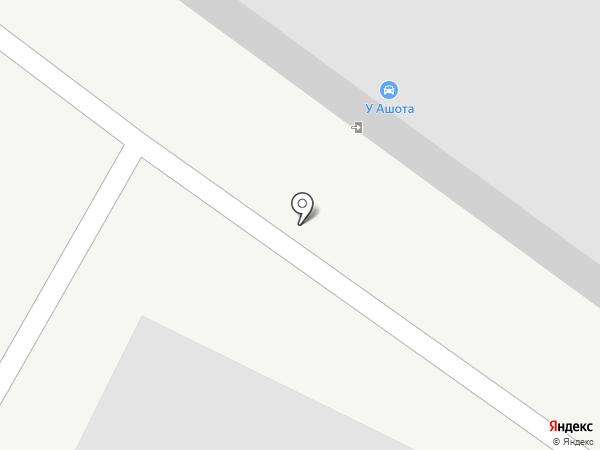 Автомастерская на карте Якутска