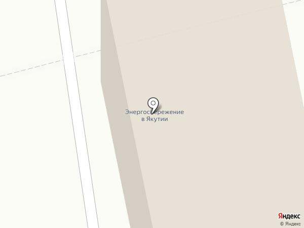 Трансстройгрупп на карте Якутска
