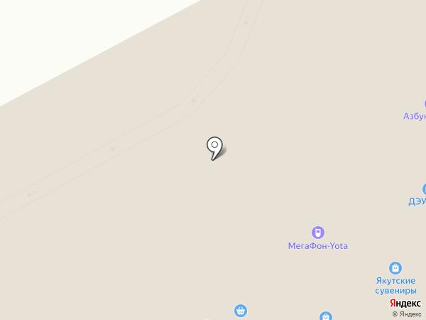 ГазБойлер+ на карте Якутска