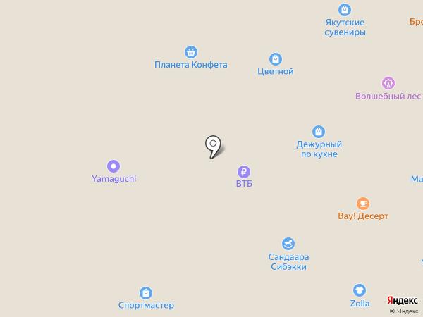 OrtoLife на карте Якутска