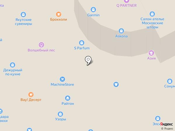 Yota на карте Якутска