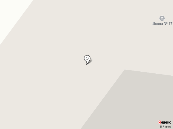 Средняя общеобразовательная школа №17 на карте Якутска