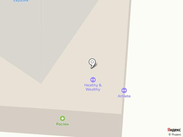 Атмосфера на карте Якутска