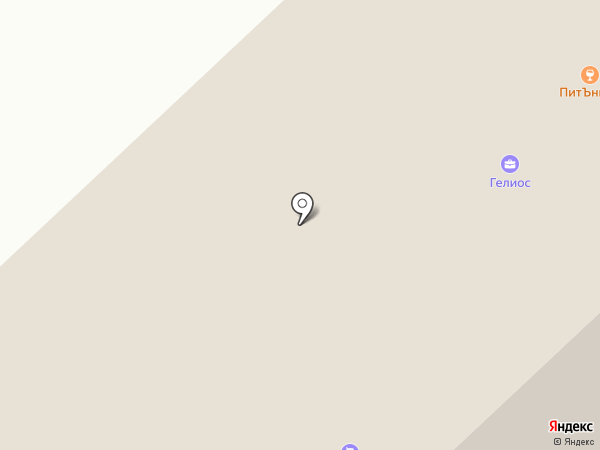 Кубический метр на карте Якутска