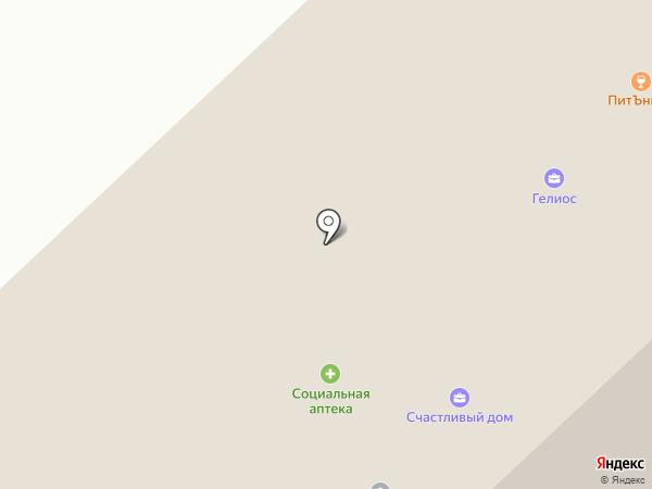 Планета Картридж на карте Якутска