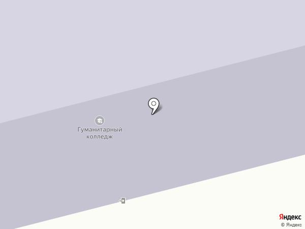 Гуманитарный лицей на карте Якутска