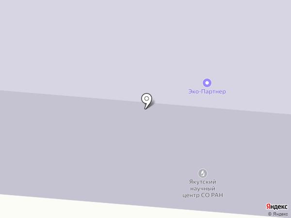ЭКО-Партнер на карте Якутска