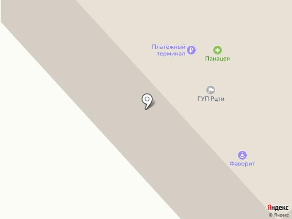 Тирэх на карте Якутска