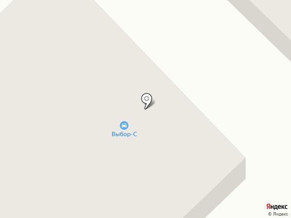 Выбор-С на карте Якутска