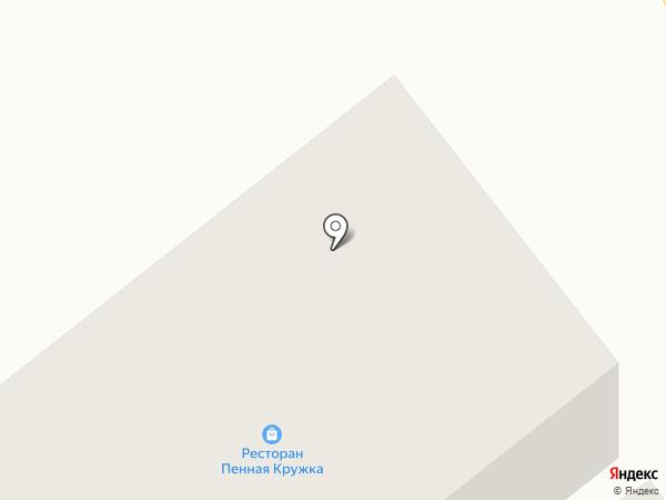Кружка на карте Якутска