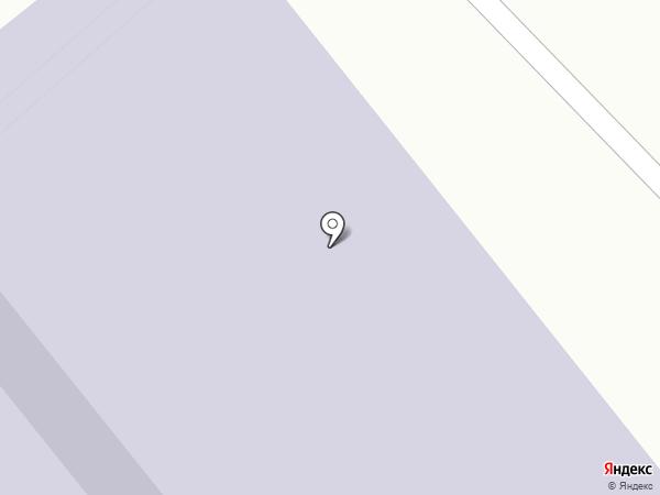 Заря на карте Якутска