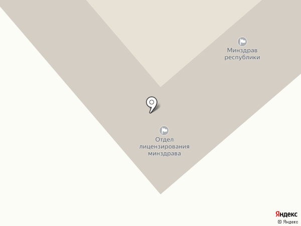 Ресурсный центр развития профессионального образования Республики Саха (Якутия) на карте Якутска