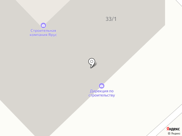 ЯРУС на карте Якутска
