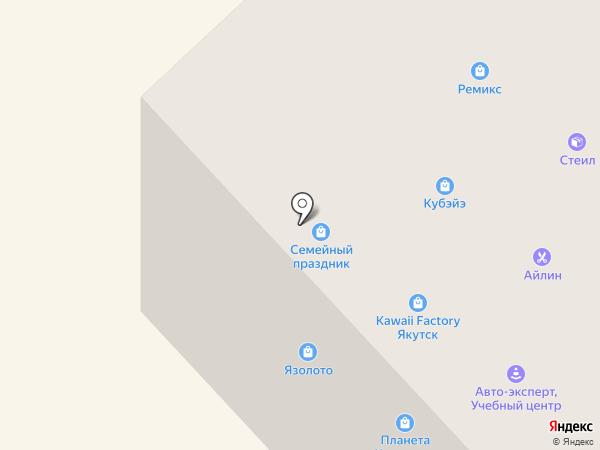 Арктическая транспортная компания, КП РС(Я) на карте Якутска