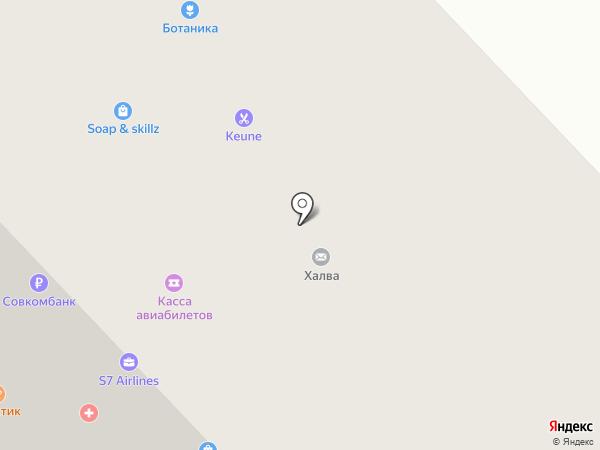 Keune на карте Якутска