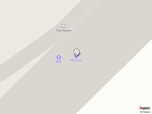 Банкомат, Газпромбанк на карте Якутска
