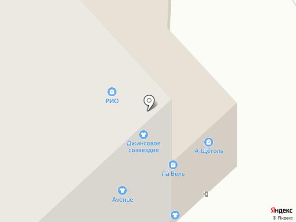 Galante на карте Якутска