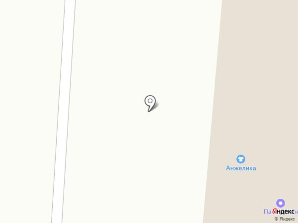 Автоэлемент на карте Якутска