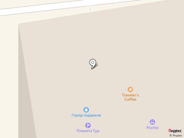 Traveler`s coffee на карте Якутска