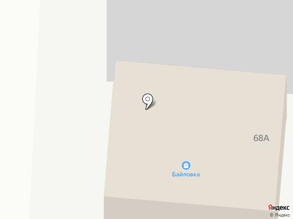 Байловка на карте Якутска