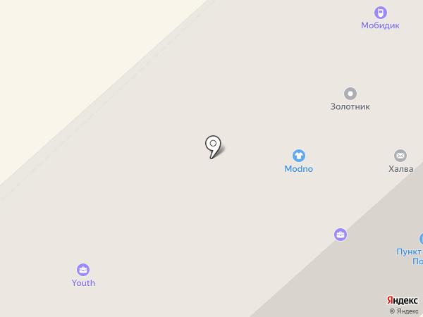 Техноград на карте Якутска