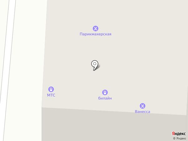 Ванесса на карте Якутска
