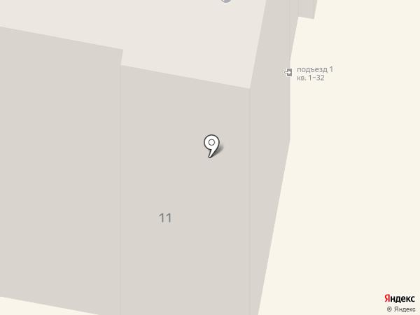 Экранчик на карте Якутска