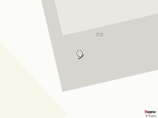 Автобус радости на карте Якутска