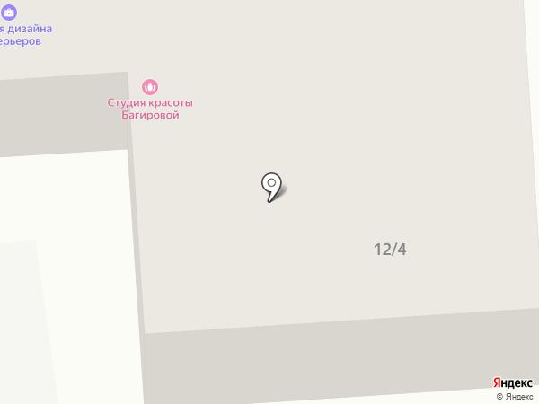 Салон красоты Николая Исак на карте Якутска