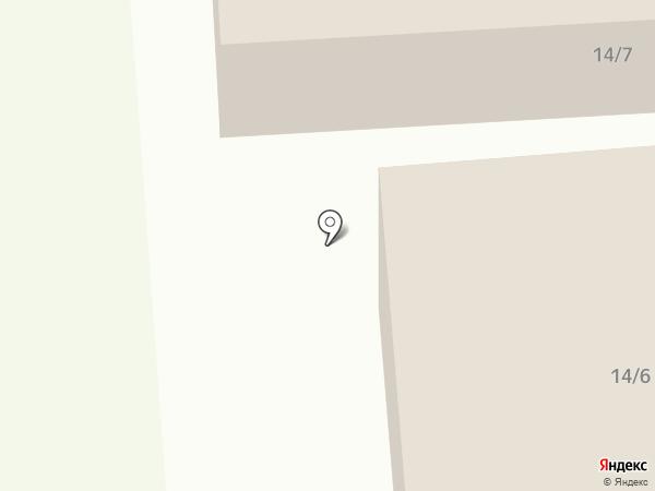Эрчим на карте Якутска
