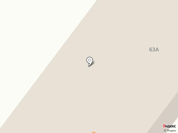 Бестях на карте Якутска