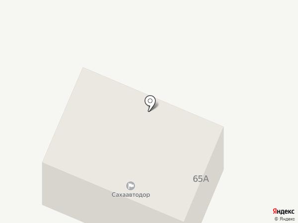 Сахаавтодор на карте Якутска