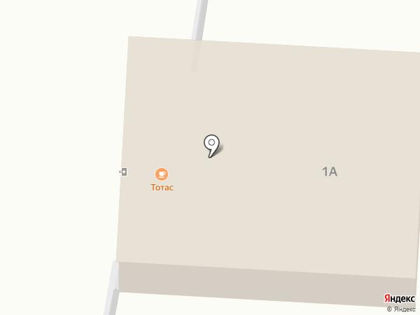 ТотАс на карте Нижнего Бестях