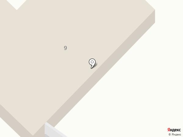 Отделение вневедомственной охраны по Мегино-Кангаласскому району на карте Нижнего Бестях