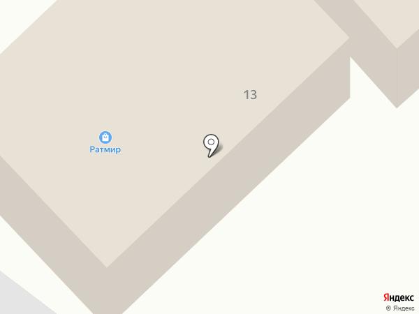 Ратмир на карте Нижнего Бестях
