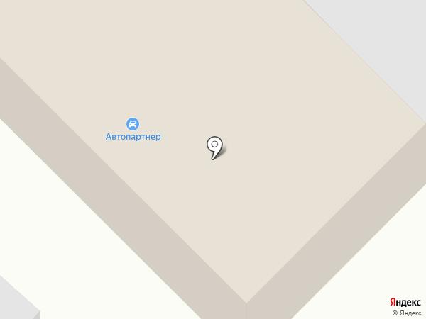 Автопартнер на карте Нижнего Бестях