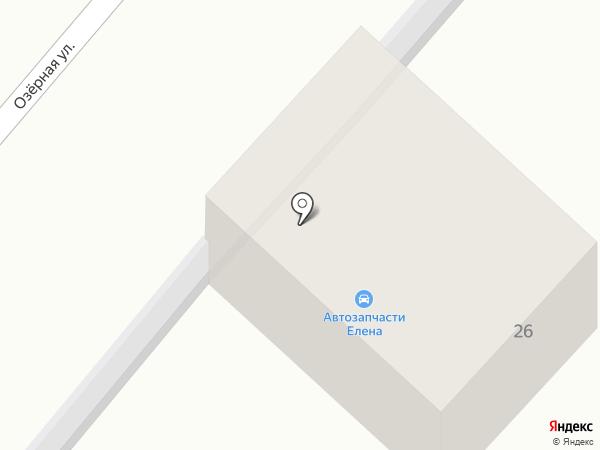 Елена на карте Нижнего Бестях