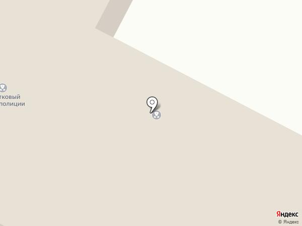 Отдел полиции на карте Нижнего Бестях