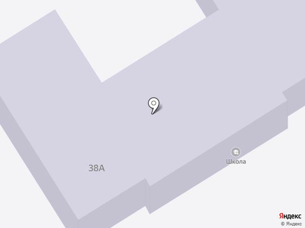 Средняя общеобразовательная школа на карте Приморского