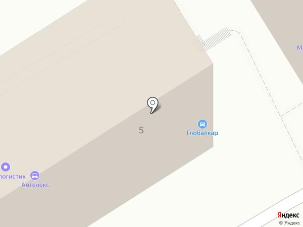 Новатор Лоджистик на карте Владивостока