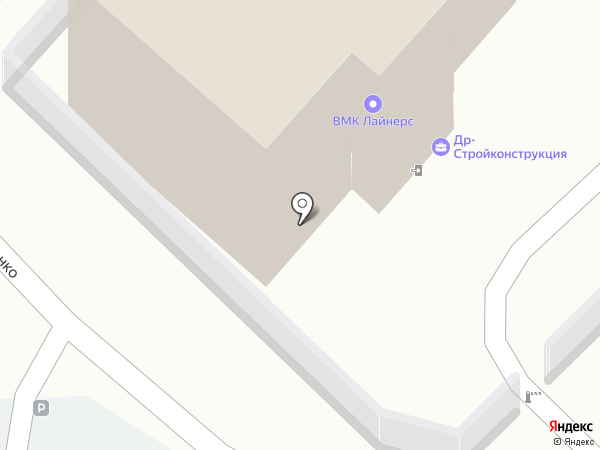 ВМК Лайнерс на карте Владивостока