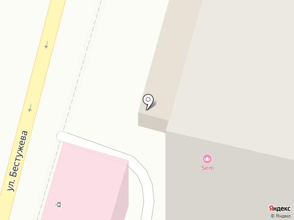 Студия лазерной косметологии на карте Владивостока