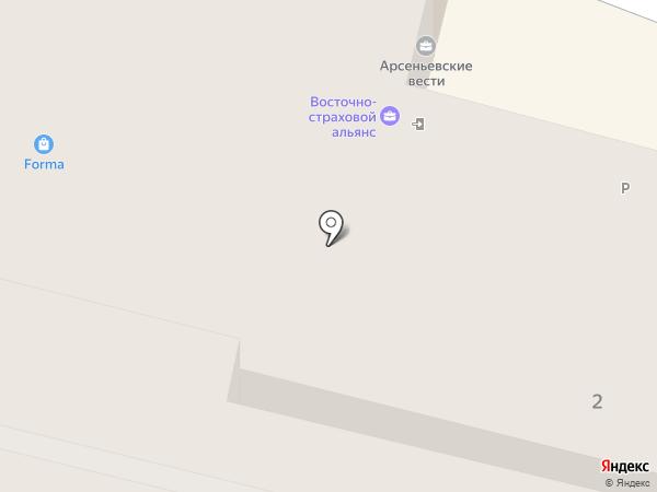 Валерьяныч на карте Владивостока