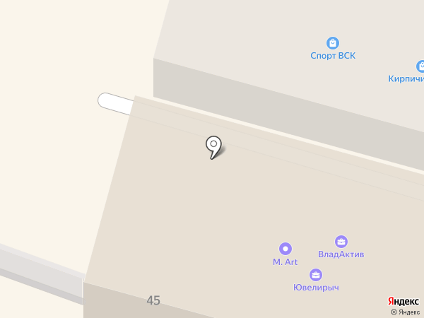 Партнер Престиж на карте Владивостока