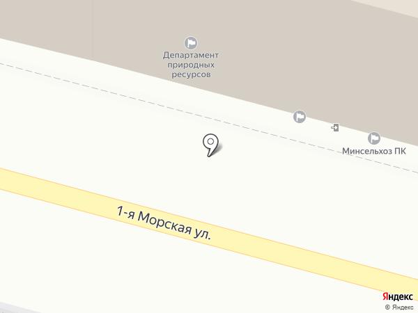 Департамент экономики и развития предпринимательства Приморского края на карте Владивостока
